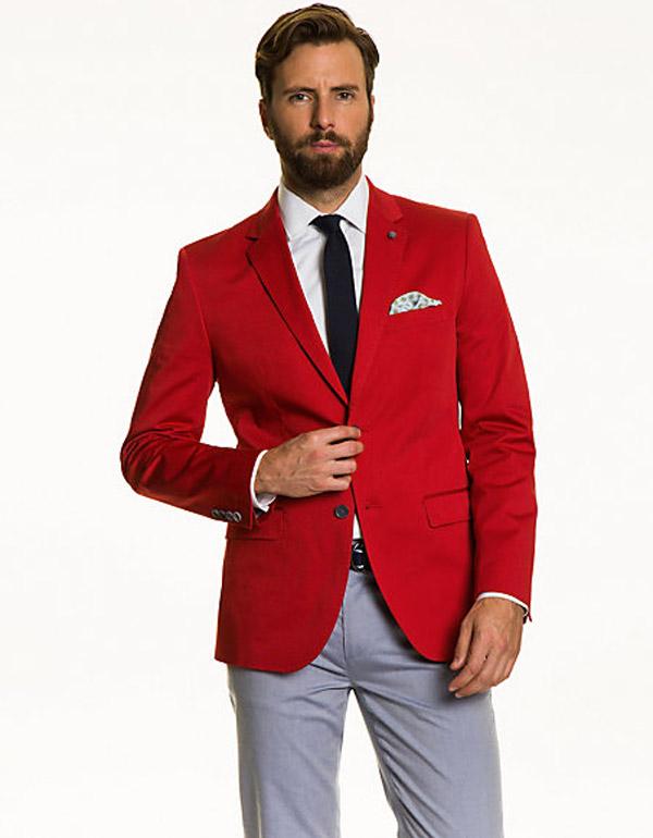 Red Blazer Canada Fashion Ql